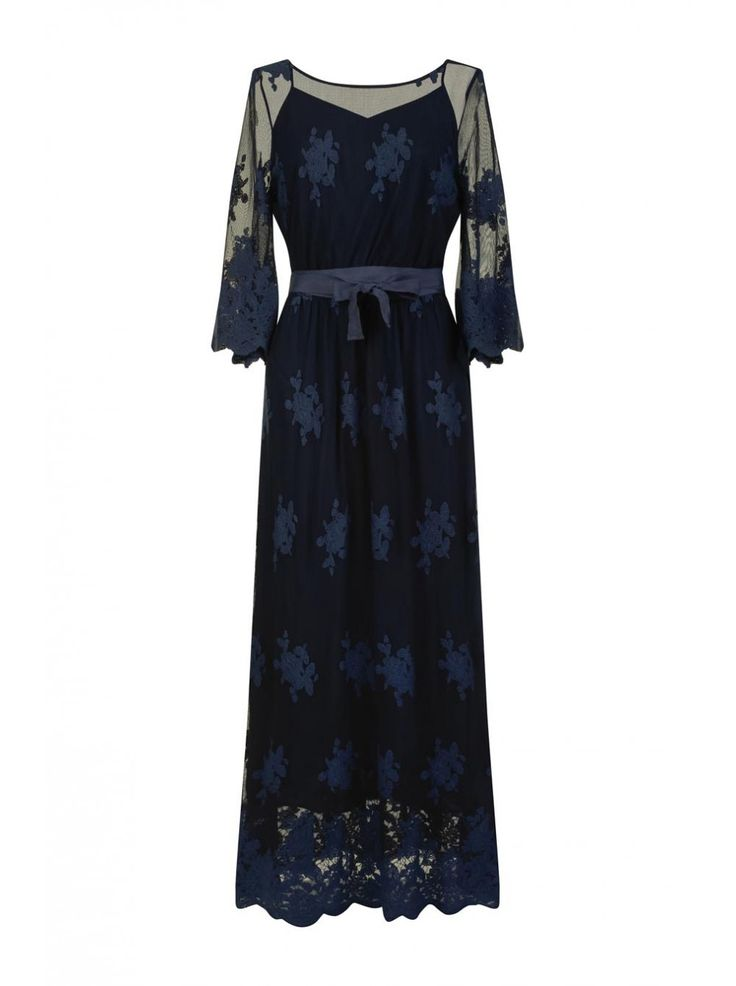 It hippie robe bleu marine