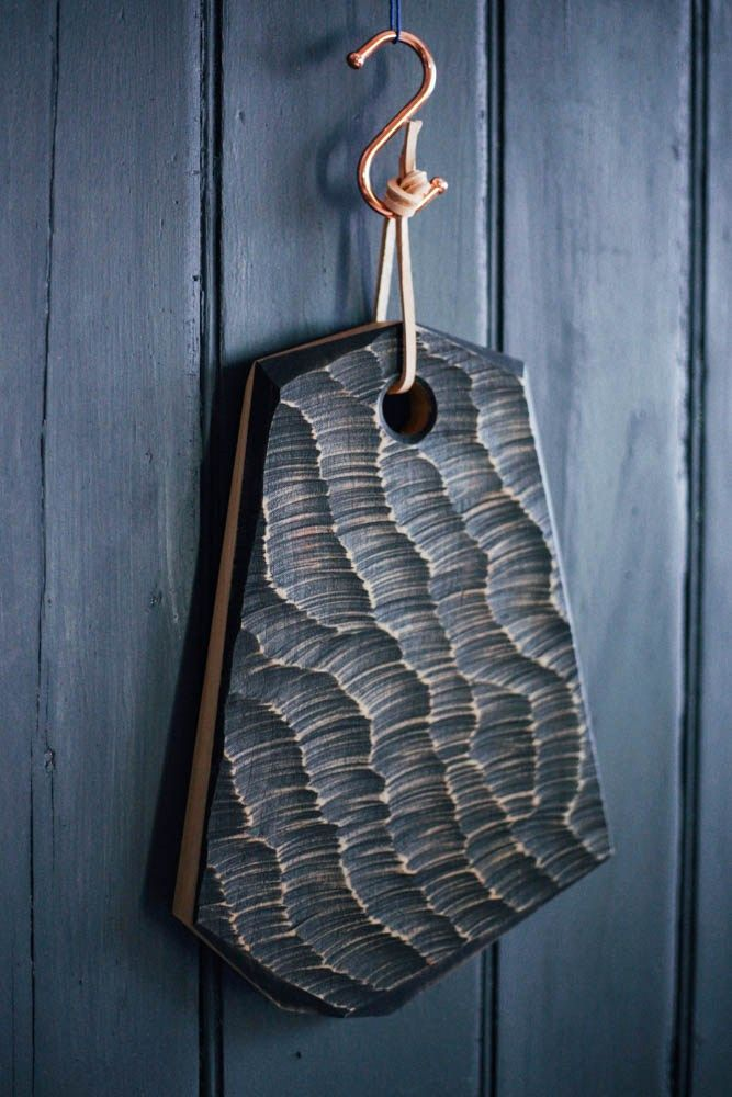Designed in collaboration with shopkeepers Seamus and Katherine of Midgley Green,the Choppy Waters serving board was conceived as a functional object with a whole lot of sculptural interest. A tac…