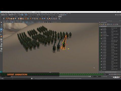 Maya Plugins Crowd Simulation, Layout & Previz tools for Maya   Golaem