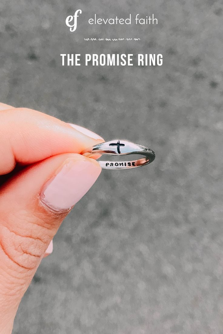 Promise Ring – Elevated Faith