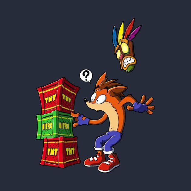 Crash Bandicoot and the crates