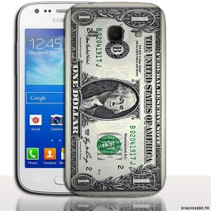 Coque Samsung France ACE 3 One Dollar - Coque Made in France. #Dollar #Promo #Samsung #Ace3 #accessoire
