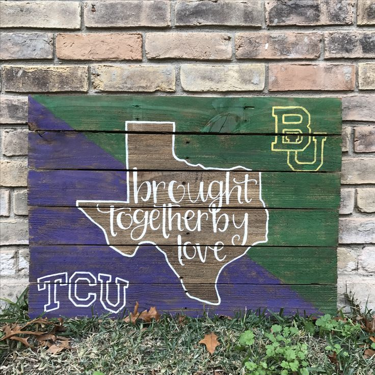 House divided pallet sign diy