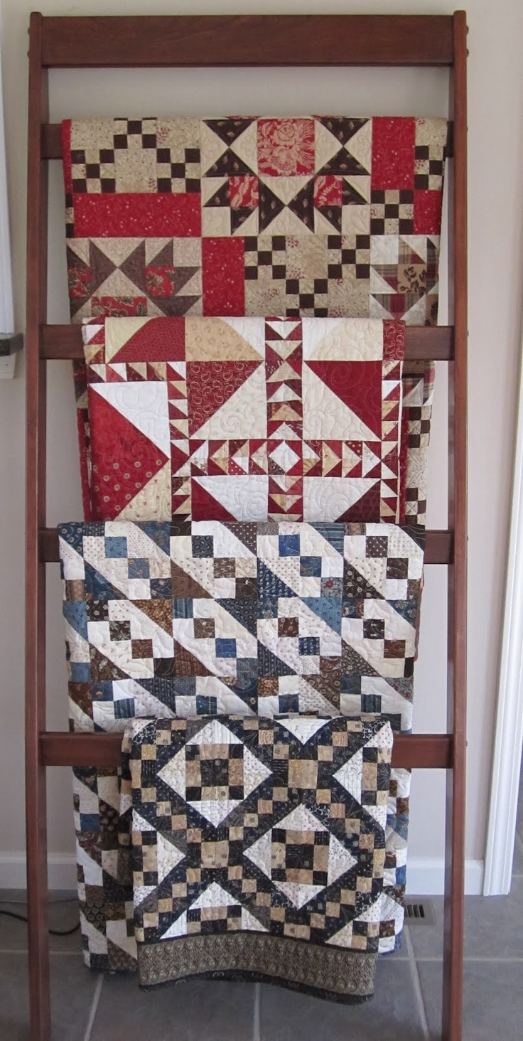 Ladder Quilt Rack Pattern Woodworking Projects Amp Plans