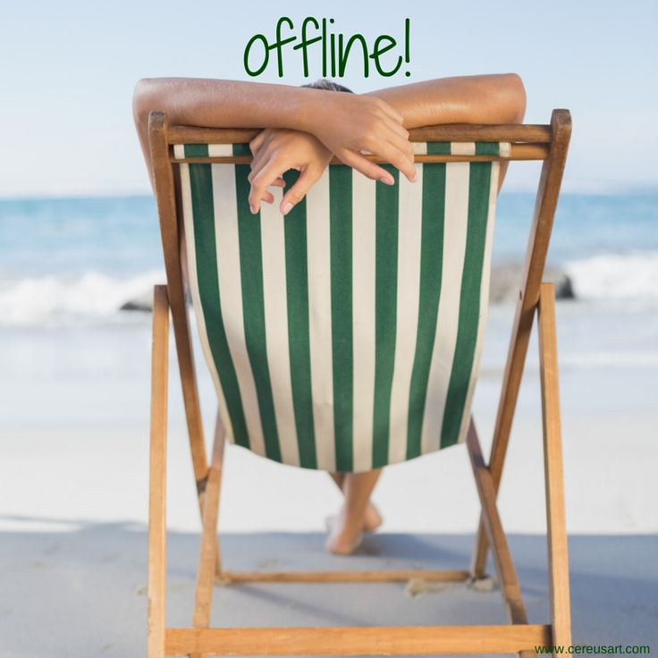 Beach Saying: Offiline