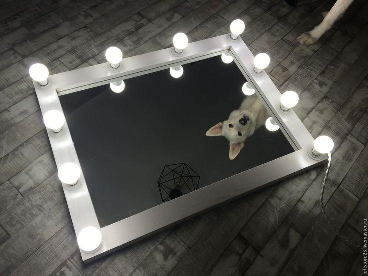 Купить Гримерное зеркало The snow Queen - белый, гримерное зеркало, зеркало, зеркало в раме