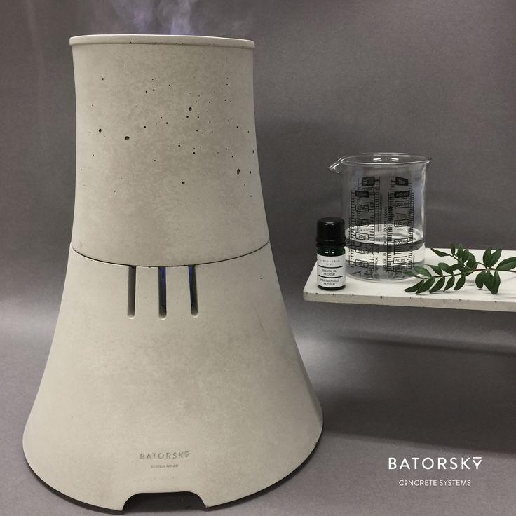 H2O concrete vapour diffuser. #batorsky #concrete #chimney #diffuser