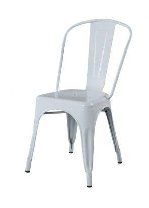Replica Xavier Pauchard Tolix Dining Chair - White