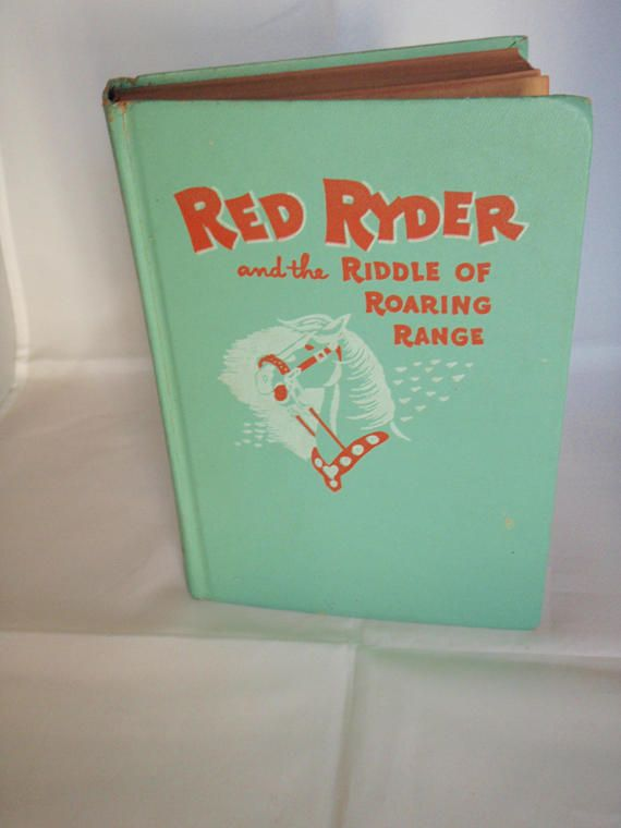 Vintage Western Red Ryder And The Riddle Of Roaring Range Young