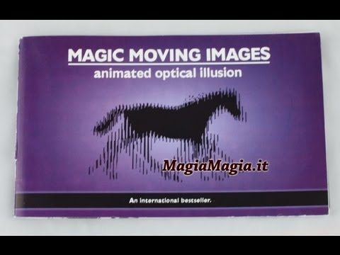 Magic Moving Images Full Hd  libro illusioni ottiche in movimento Animated Optical Illusions book.