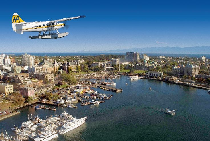 Harbour Air Seaplanes - Victoria, B.C. http://www.tourismvictoria.com/plan/getting-here/