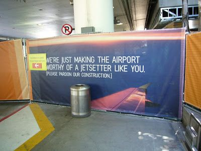 About Airport Planning Fun Ads At Lax Airport On