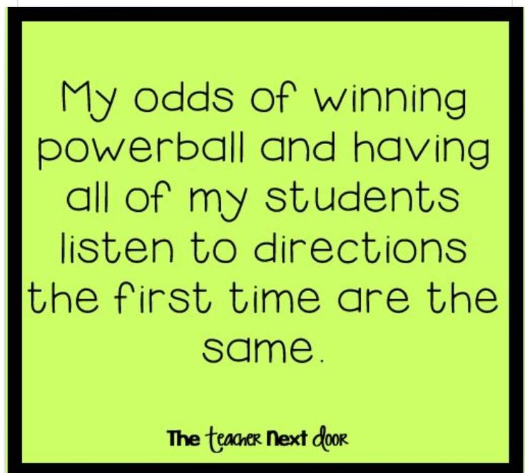 Odds of winning the powerball and teachers | Quotes/Thoughts/Laughs to ...