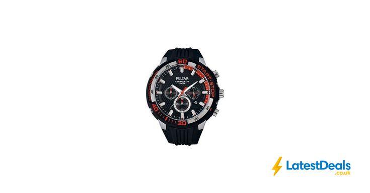 Pulsar - Gents Sports Chronograph Watch *HALF PRICE* Free C&C, £62.50 at Debenhams