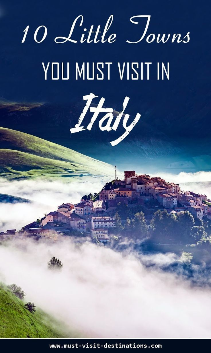 nice 10 Little Towns You Must Visit in Italy #travel...