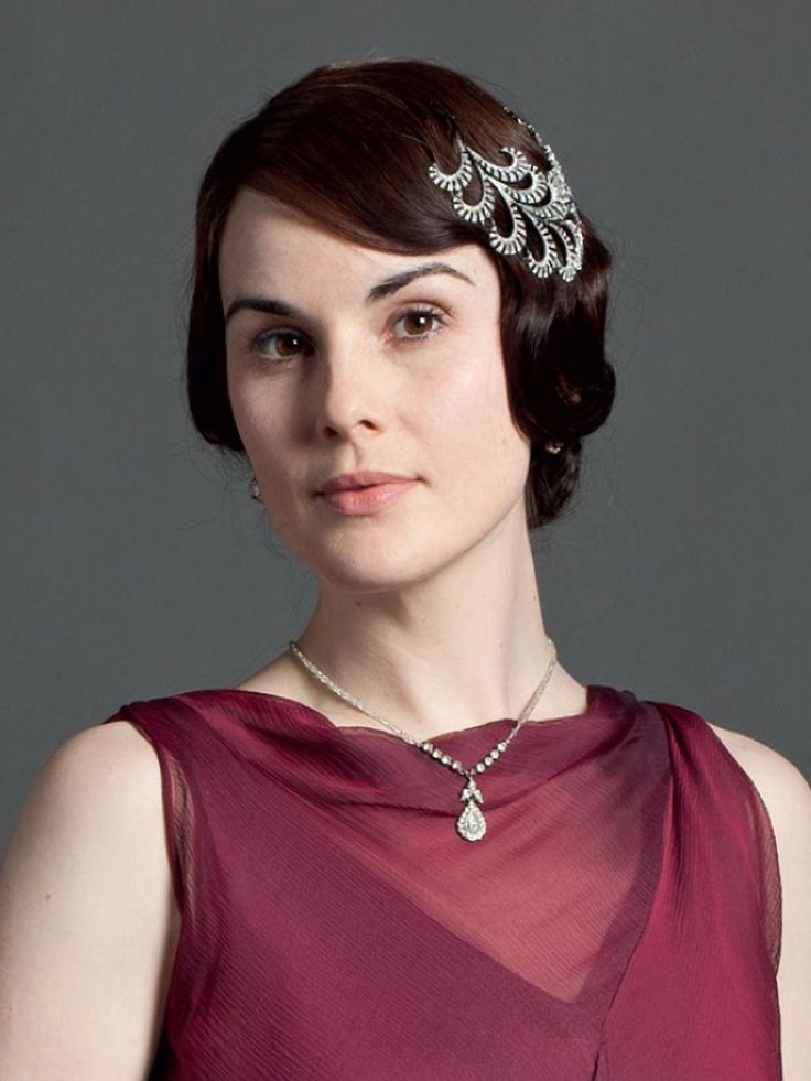 Lady Mary, Downton Abbey season 3 - silver laurel hair clip, or pin