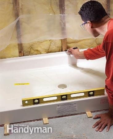 Plumb & Install a Shower Base                                                                                                                                                                                 More