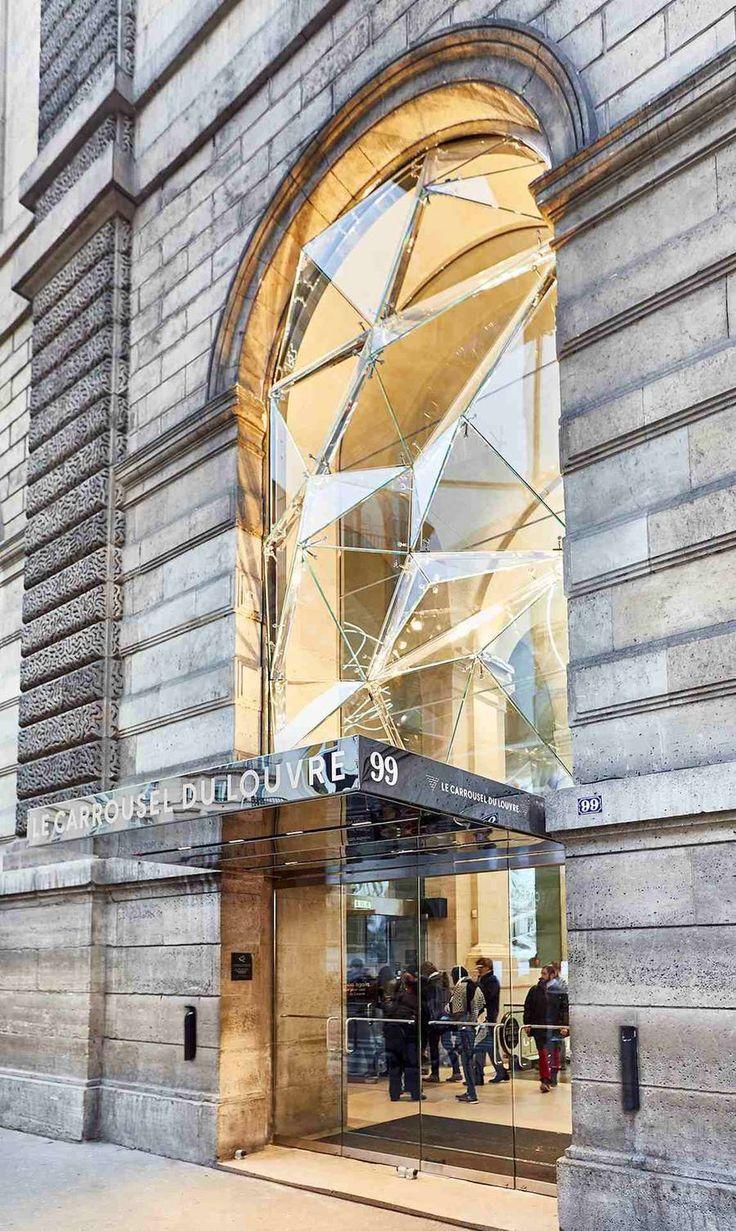 New Paris Louvre Museum Shopping Mall by Wilmotte & Associés