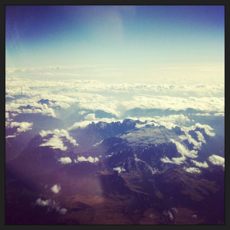 Up in the air. Taranko travels. Visit us: www.e-taranko.com