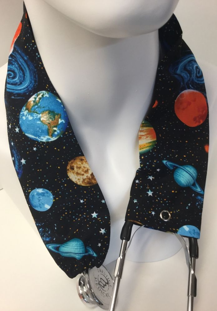 Planets MD RN EMT LPN Stethoscope Cover  Buy 3 GET FREE SHIPPING  #Handmade