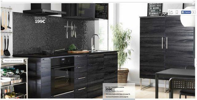 17 best ideas about ikea kitchen catalogue on pinterest - Ikea cuisine noir ...