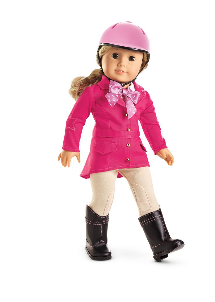 Pretty Pink Riding Outfit For Dolls Truly Me Pinterest