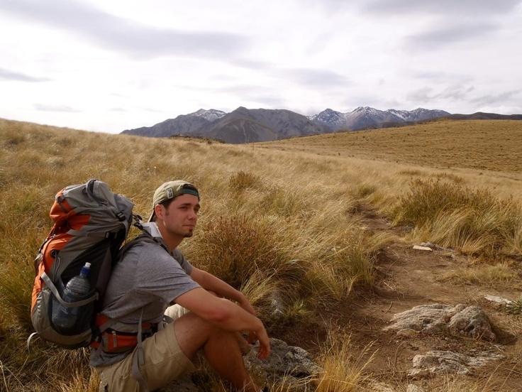 Just tramping around Mount Somers, New Zealand