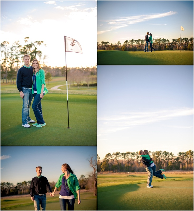 Best Golf Pinterest: 51 Best Images About Golf Engagement Photos On Pinterest