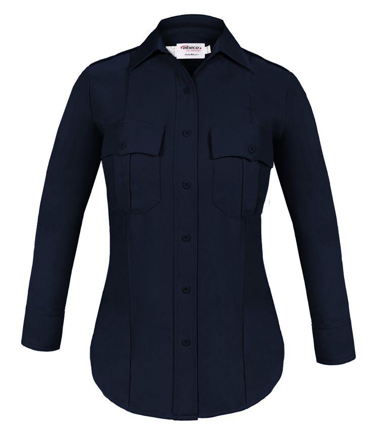 Women's Elbeco DutyMaxx Postal Police Long Sleeve Shirt - Postal Police Emblem