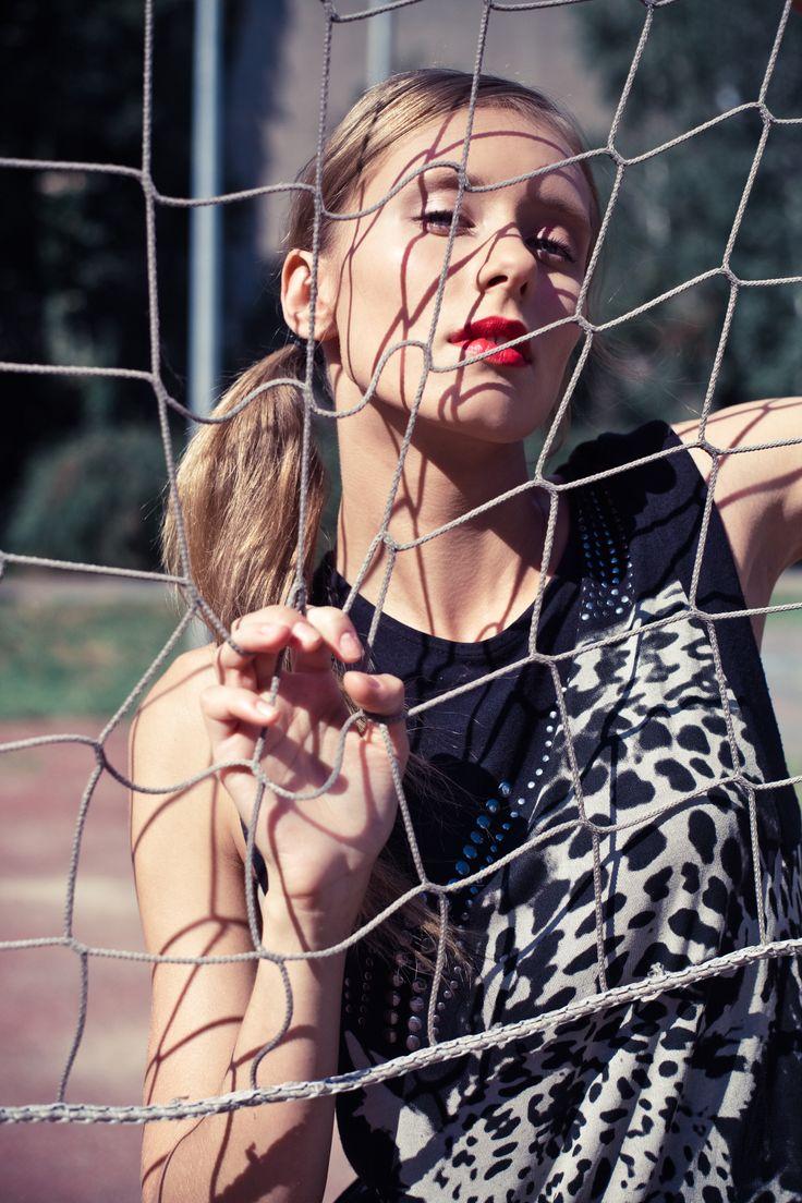 Aleksandra Krysiak by Marika Masny; MUA & style Koleta Gabrysiak