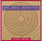 A meditative sand labyrinth you hold in your lap.