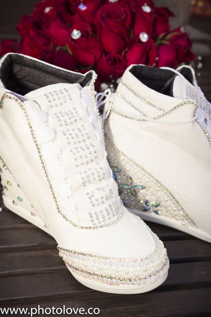 Zapatos cómodos para el baile.