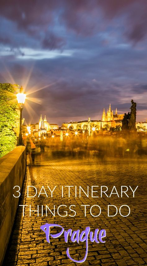 3 Day Itinerary, Things to do in Prague. Prague is unlike any other city in Europe and you will never forget the moment you see it for the first time. It is hauntingly beautiful with its gothic architecture and old world charm. It was not rebuilt in the 18th or 19th century like most other European cities and therefore its colorful rooftops and ornate spires are still intact. It is said, that Prague is so beautiful. Click to read more at…