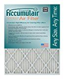Accumulair Emerald 13x21x1 (Actual Size) MERV 6 Air Filter/Furnace Filters (4 Pack)
