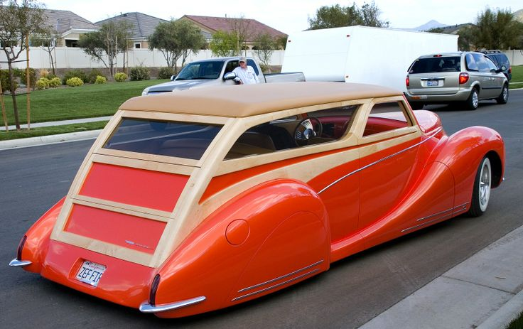 Lincoln Zephyr Woody ...   Me Want.