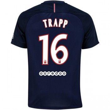 Paris Saint Germain PSG 16-17 Kevin Trapp 16 Hemmatröja Kortärmad   #Billiga  #fotbollströjor