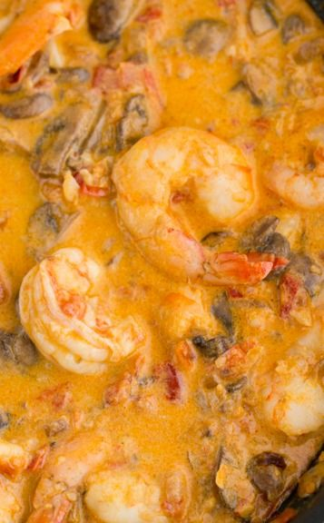 Shrimp and Mushroom