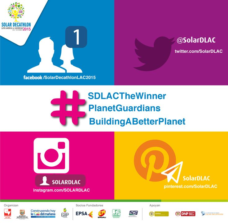 It is time to get this started! Starting tomorrow we encourage our community of #PlanetGuardians to start using the following Hashtags in every post referring to #SolarDecathlonLAC2015 Teams, Founding Partners and Sponsors are also part of the invitation with Hashtags such as #BuildingABetterPlanet and #SDLACTheWinner  Time to start connecting and interacting with each other! #PlanetGuardians #BuildingABetterPlanet #SDLACTheWinner