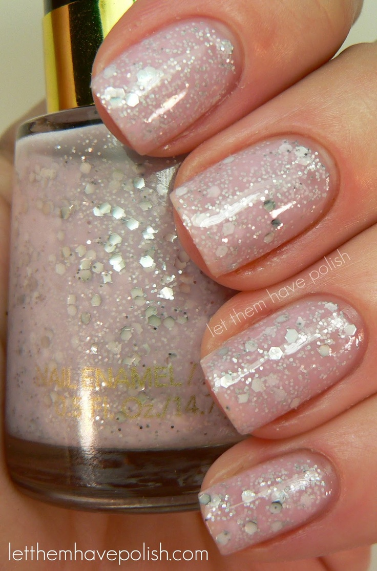 Holiday Nails - Revlon Starry Pink/ Fall 2011 Release