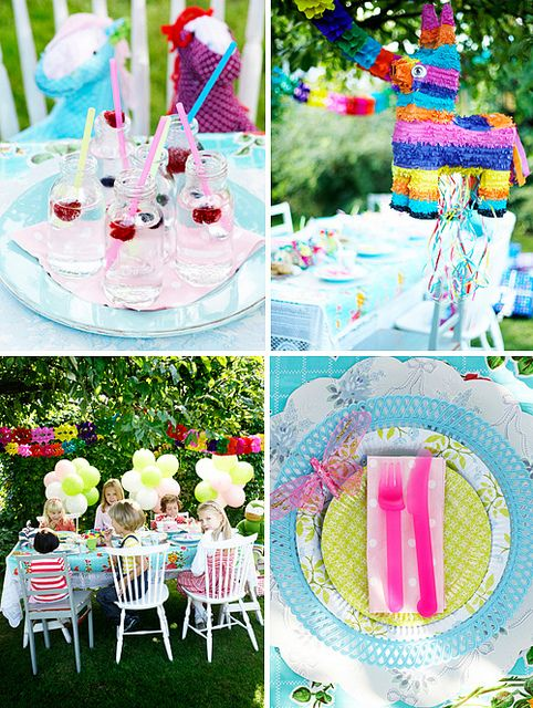 summer kids party by the style files, via Flickr