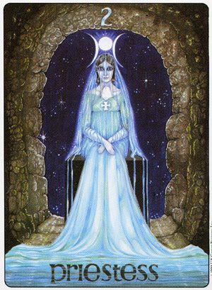 Image result for priestess gill tarot
