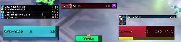 What's the addon called to get the bars of procs/buffs etc. above this person's name? #worldofwarcraft #blizzard #Hearthstone #wow #Warcraft #BlizzardCS #gaming
