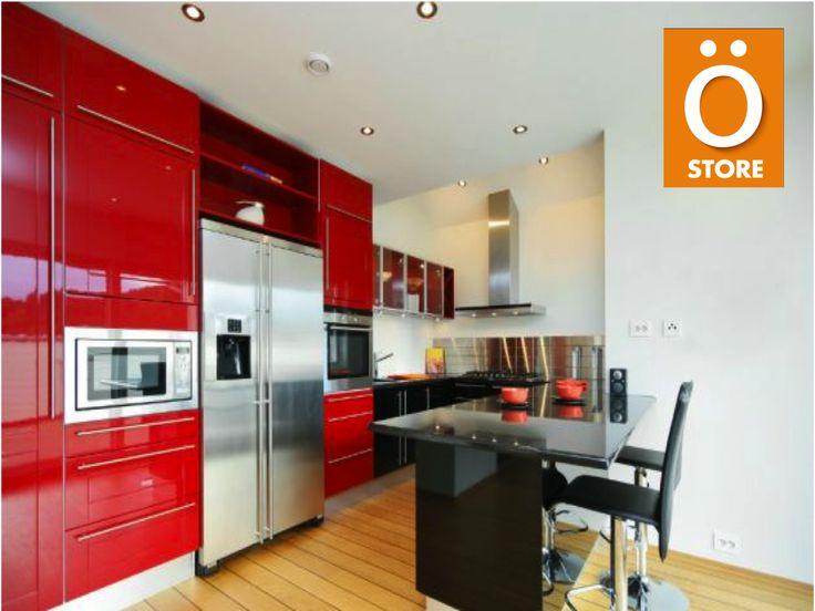 de 25 ideas fantásticas sobre Gabinetes De Cocina De Color Rojo en