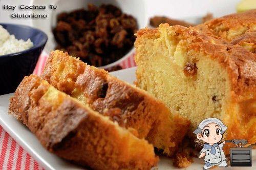 Hoy Cocinas Tú: Cake de manzana sin gluten