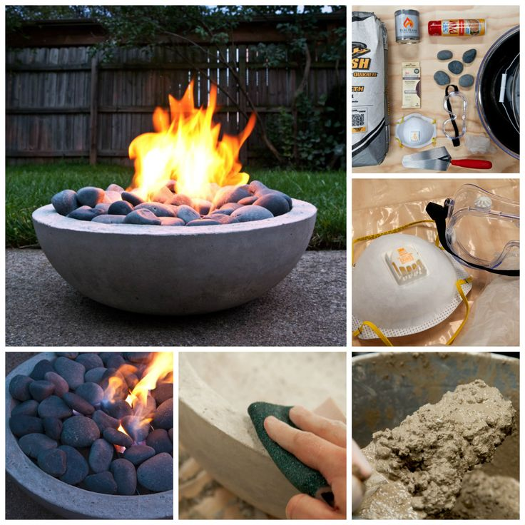 1000 Ideas About Backyard Fire Pits On Pinterest: 1000+ Ideas About Concrete Fire Pits On Pinterest