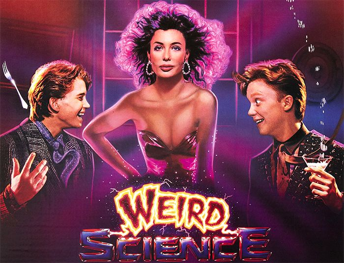 eird Science, released in 1985, may not be the best film directed by John Hughes, who gave us The Breakfast Club, Ferris Bueller's Day Off, Uncle Buck and Planes, Trains & Automobiles, but it has retained its cult status through its mix of teenage fantasy, gross comedy and Kelly LeBrock's far-too-tiny white T-shirt.  Here are the things that make it so weirdly great.