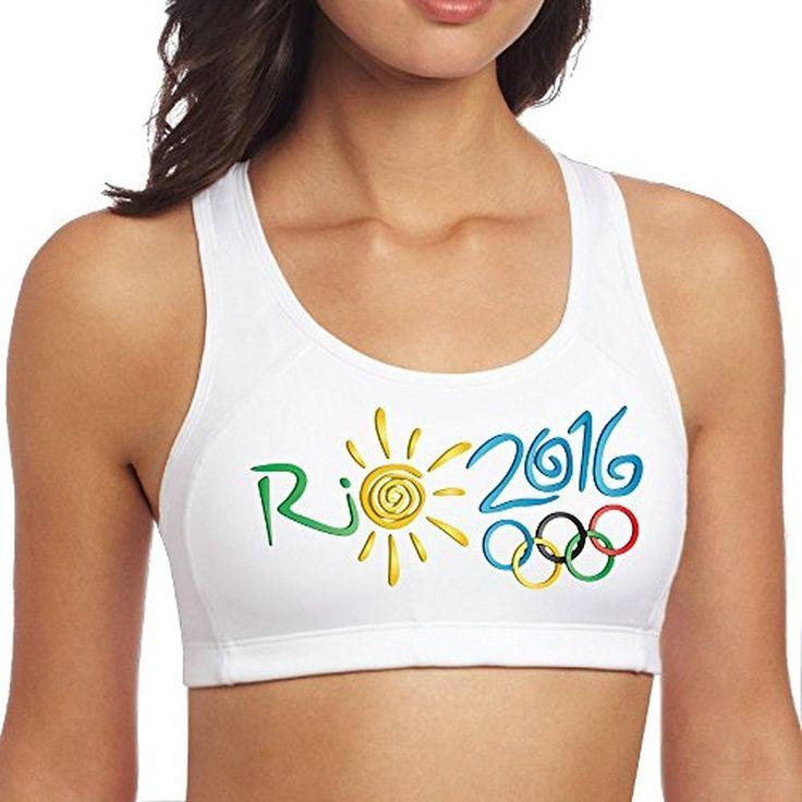 XJBD Women's Fashion The 2016 Rio De Janeiro Sports Vest White L - Brought to you by Avarsha.com