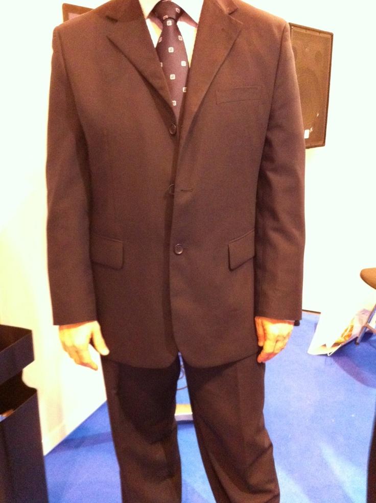 in-company afternoon in Barcelona - Traje de Monte Cristo, camisa de Turnbull & Asser y corbata de Benson & Clegg