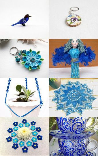 Blues? by Gabbie on Etsy--Pinned with TreasuryPin.com