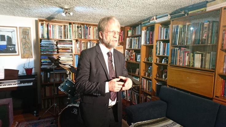 Antanas Mockus, profesor, constructor de paz. Un desarmado para #Desarmado